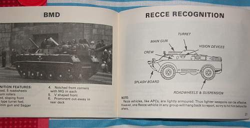 Cold War Soviet Vehicle / Threat Recognition Guide.