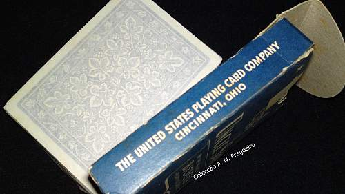 Uncle Sam`s deck of playing cards