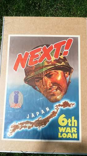 NEXT! 6th War Loan Poster