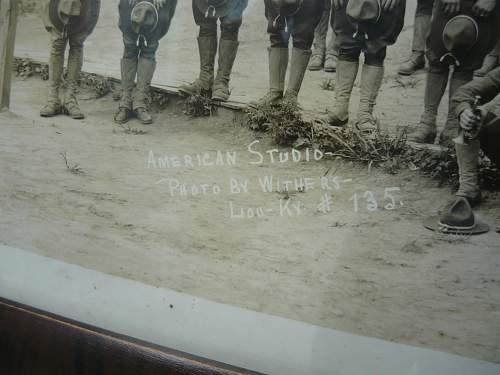 WWI Yard Long Photo