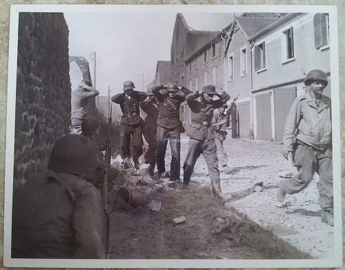Huge Collection of WW2 US Field Censored Photos