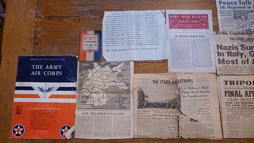 Assorted Newspapers and Other Pieces