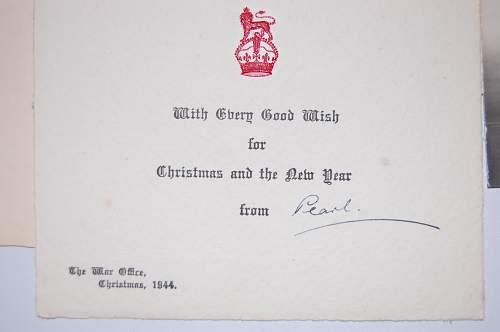A Cigar Box full of Christmas Cards