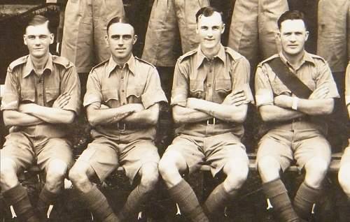 Inter wars MG company Welch regiment