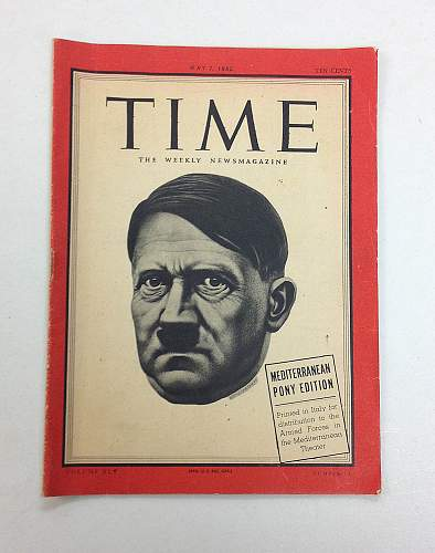 May 7th 1945 Mediterranean Pony Issue Time Magazine