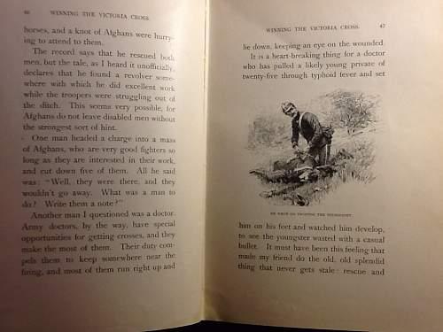 """1902 book, """"Daring Deeds"""" about war hero's ."""
