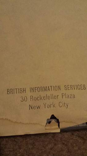 WWII British Propaganda Poster Find