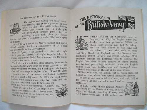 Interesting battle forces of britain small book by W.H.C London 1940s?.