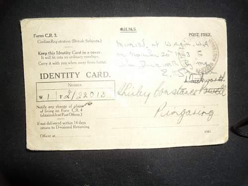 WW2 ID card ???