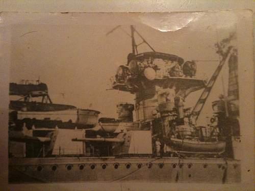 Photos of HMS Exeter Vs Graf Spee