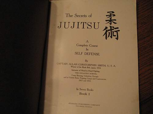Early Judo and Jujitsu Books/Booklets