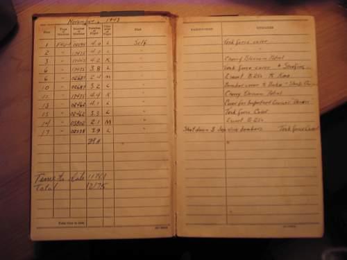 Corsair Ace log book