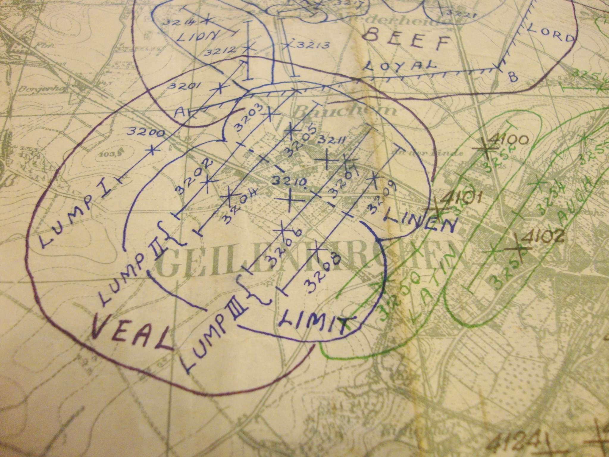 operation clipper map top secret