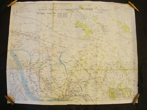 "operation ""plunder"" british map"