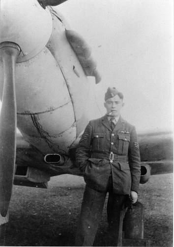 Unknown R.A.F. pilot