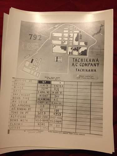PTO Bomb Damage Assessments