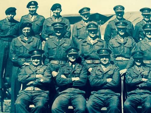WWII British Army Group Photo