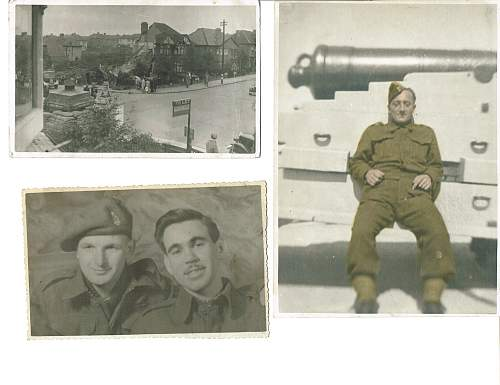 Photos of first Canadian Division 1st Anti-tank