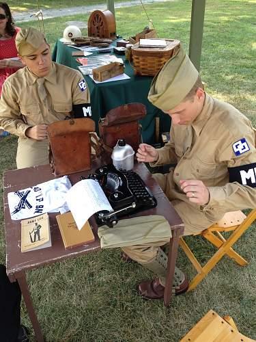 240th M.P. Bn. - FDR's Ornaments