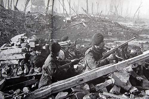 British Army Photographs 1945