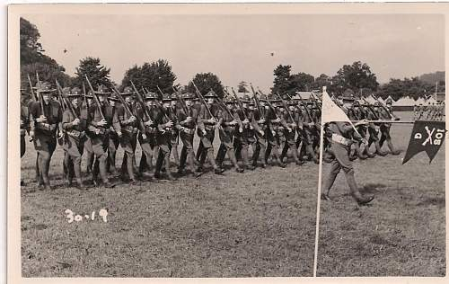 Click image for larger version.  Name:105th inf 27th div photo.jpg Views:66 Size:129.1 KB ID:74642