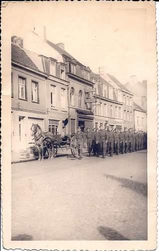 Deinze - Belgium KOSB 1945 (a photographic longshot!)