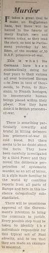 The Allied Prisoner of War P.o.W Thread