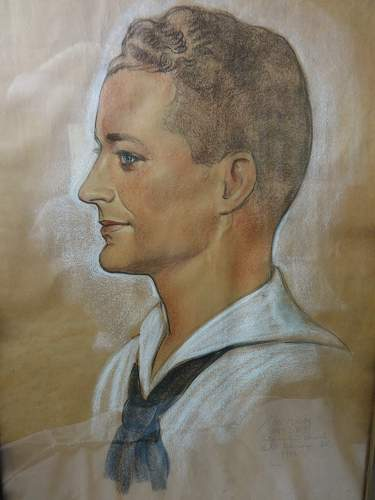 Portrait of a US Sailor