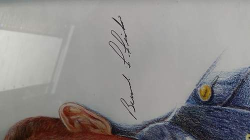 My Bernard Fisher MOH recipient signed poster