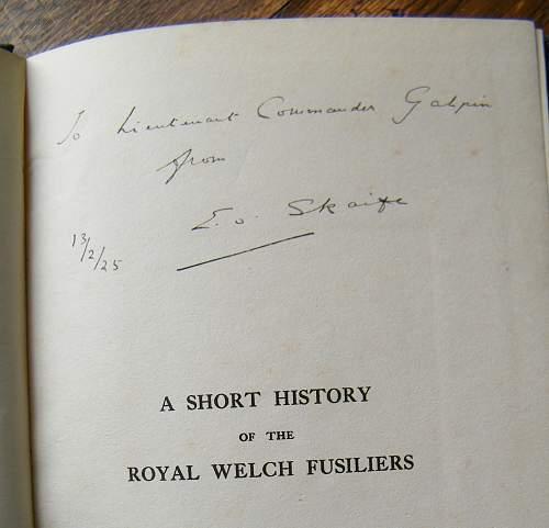 Interesting signed & dedicated book