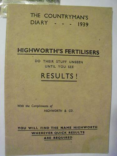 Highworth's Fertilisers - Home Guard Auxiliaries