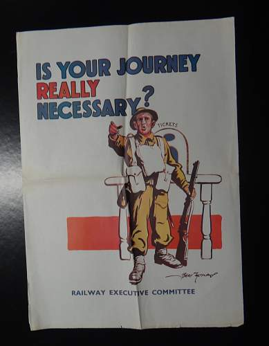 """Please help - """"is this journey really necessary?"""" poster - authentic???"""