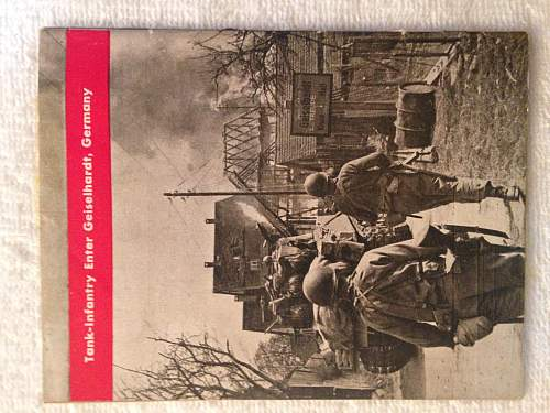 10th Armored Division Booklet? Rare?