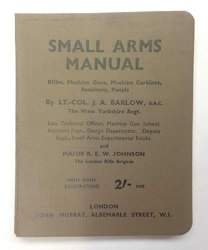 Click image for larger version.  Name:Small Arms Manual.jpg Views:79 Size:188.7 KB ID:899558