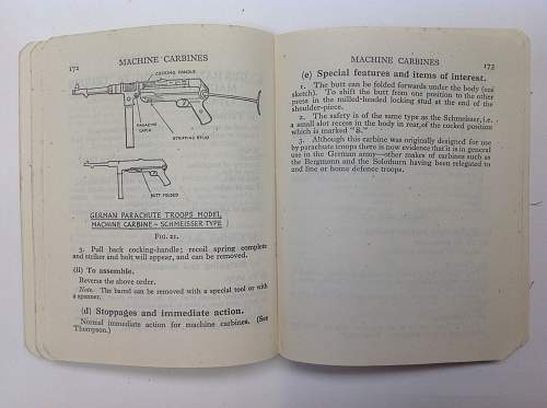 British private purchased Small Arms manual