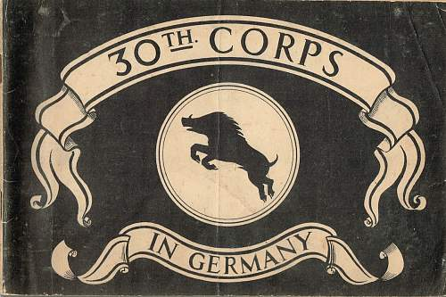 30 Corps In Germany booklet.
