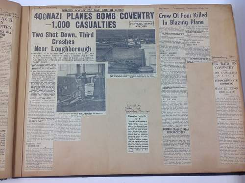 Coventry Blitz archive collection