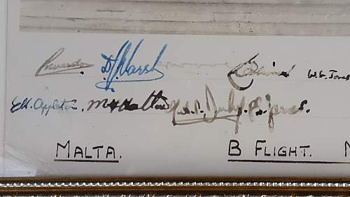 signed pic - No. 2 Officers Advanced Training school in Malta