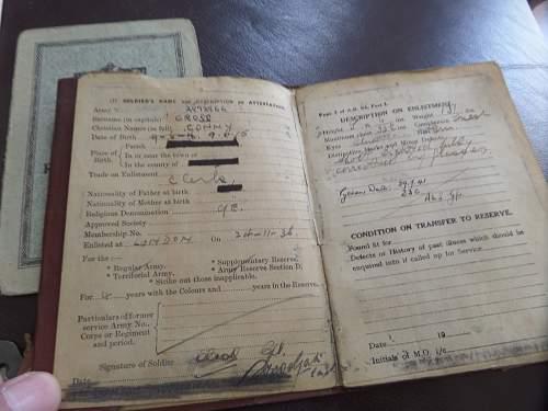 Help need with British paperwork