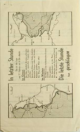 Propaganda Brochure with American Translation