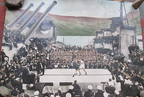 Help please with photo of Navy boxing match