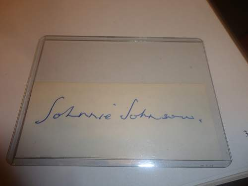 Large Autograph Collection I just bought British American Canadian German