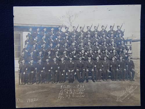 USMC Autographed Photo