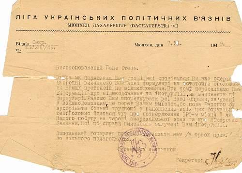 Soviet Documents - Holocaust/Dachau?