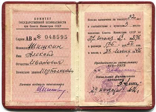 NKVD Identification Book