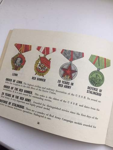 'Our Red Army Ally' booklet
