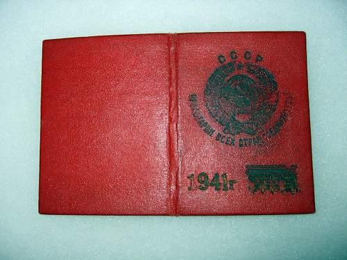 NKVD ID book?