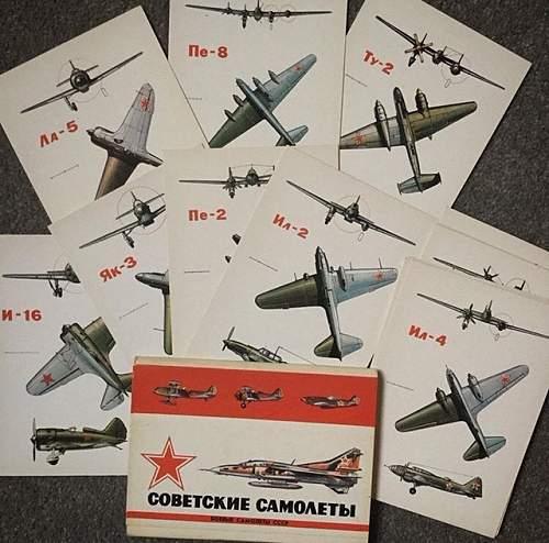 Soviet Tank Postcards
