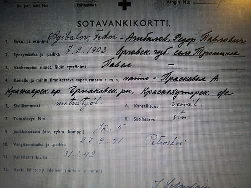 Soviet WW2 bakelite ID Capsule with content