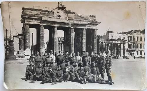 Brandenburg Gate in 1945